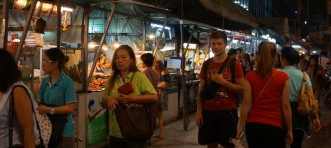 Flug, Ankunft und erste Eindrücke aus Bangkok…