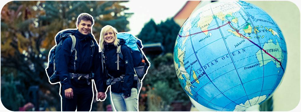 Didi und Maria reisen um die Welt