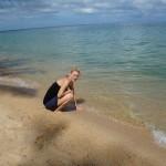 feinsten Sand bestaunen