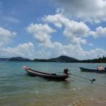 Boote am Bophut Beach