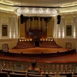 Allein in der Town Hall n Brisbane