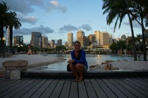 Blick auf Brisbane