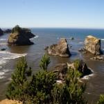 einzelne Felsen an der Westküste