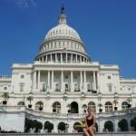 Vor dem Capitol