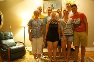 zu Besuch bei Kassandra's Familie