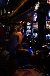 im Casino in New Orleans