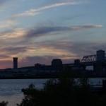Sonnenuntergang in New Orleans