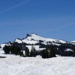 trotz Ende Juni, überall Schnee