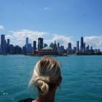 Schiffahrt auf Lake Michigan