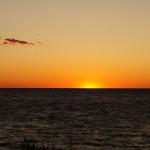 Sonnenuntergang am Lake Erie