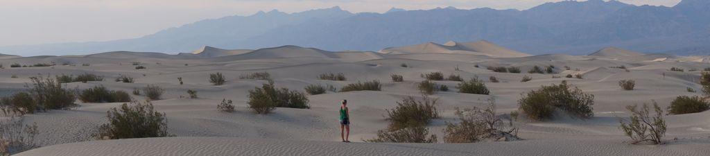 Sandünen im Death Valley
